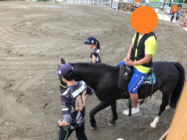 乗馬体験 (サーバントホース)